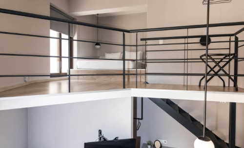 Loft - Bed In Athens_21